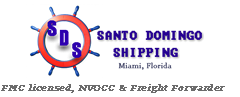 Logo Santo Domingo Shipping
